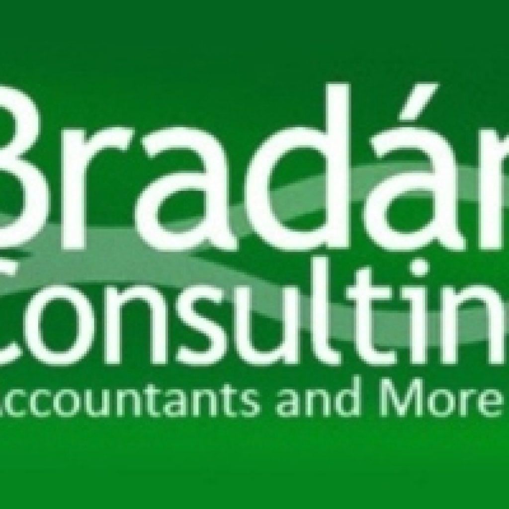 Bradan Consulting Logo Green Accountants and More