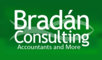 Bradan Consulting Logo Green Accountants and More