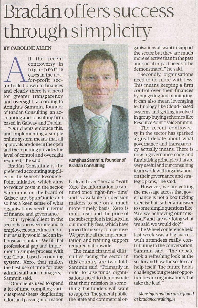 20140525 Sunday Business Post Bradan Article